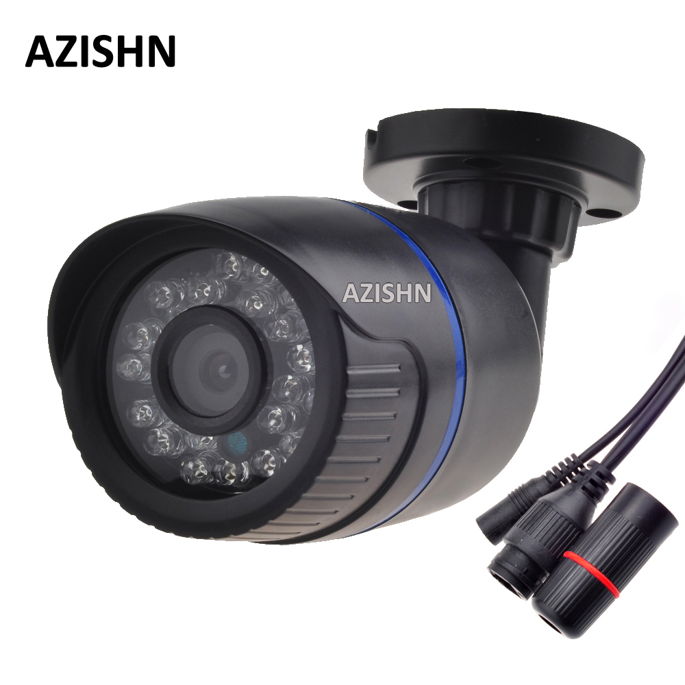 AZISHN 2.0MP 1080P Onvif Security Camera CCTV 24PCS IR LED  Waterproof Outdoor Surveillance IP Camera FULL HD 1080P Surveillance cctv cam ip camera 1080p hd outdoor waterproof pt onvif surveillance inspection dome security camera ir led