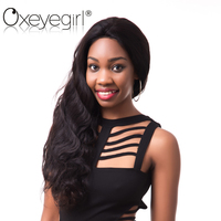 Oxeye Girl Brazilian Body Wave Full Lace Human Hair Wigs With Baby Hair 130 Density Hand