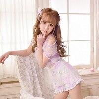 Princess Sweet Lolita BlouseCandy Rain Exclusive Design Summer New Sweet Two Piece Suit Blouse Denim Shorts