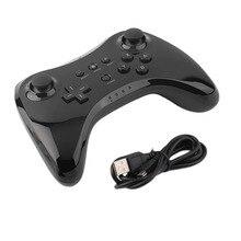Классический Двойной Аналоговый Bluetooth Беспроводной Пульт дистанционного управления USB И Игровой Геймпад для Nintendo Wii U White Черный Оптовой
