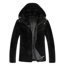 Real Fur Coat For Men Genuine Fur Design Winter Outwear Winter Warm Outwear Male Fur Coat Jacket