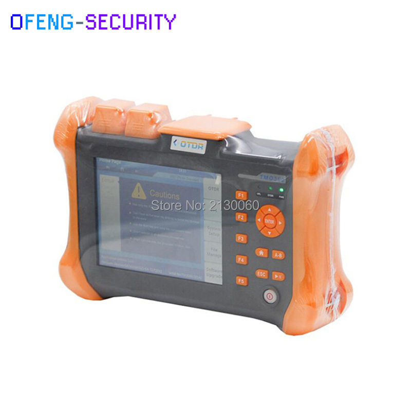 OTDR TMO-300-SM-C OTDR 1310/1550nm 30/32dB,Integrated VFL,Touch Screen Optical Time Domain Reflectometer VFL