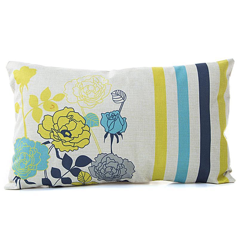 Fashion 30cm*50cm Classical Sofa Seat Cushion Cover Decorative Throw Pillow Cover Cover almofadas decorativas para sofa