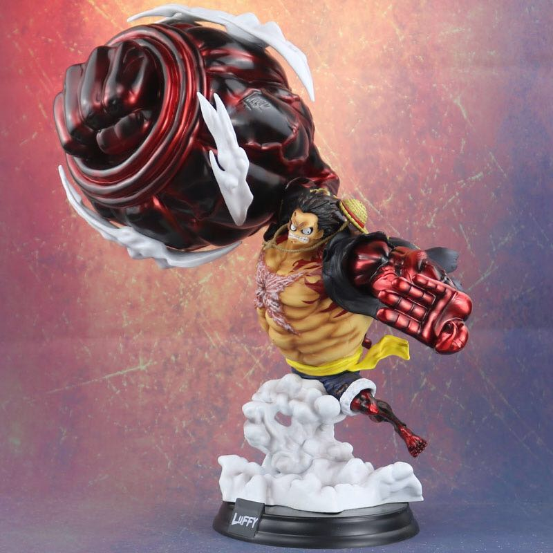 One Piece Gear 4 Luffy Action Figure Monkey D Luffy Gear Four Pvc Collectible Model Toy Anime Figure Figma 40cm Toy Action Toy Figures Aliexpress Hd wallpapers and background images. aliexpress
