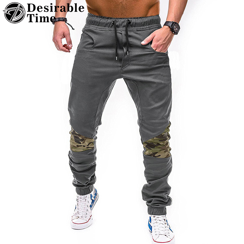 Cargo Pants 2018 Mens Fashion Casual Camouflage Trouser Fashion Hip Hop Pants Streetwear ...