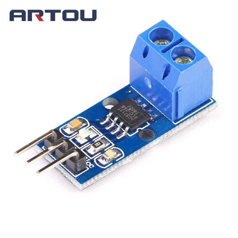 1 шт. 5a диапазон ACS712 5A ток Сенсор модуль