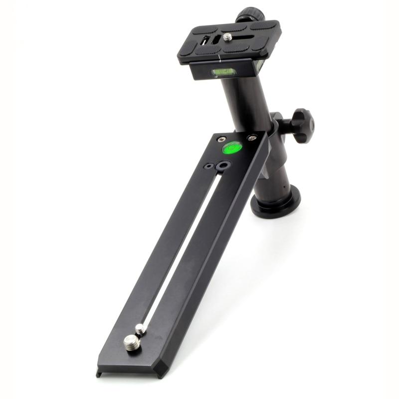XILETU LVQ-250 200-500mm Long-focus Lens Bracket Kit for Bird Watching Lengthened Quick Release Plate Long Nodal Slide Rail