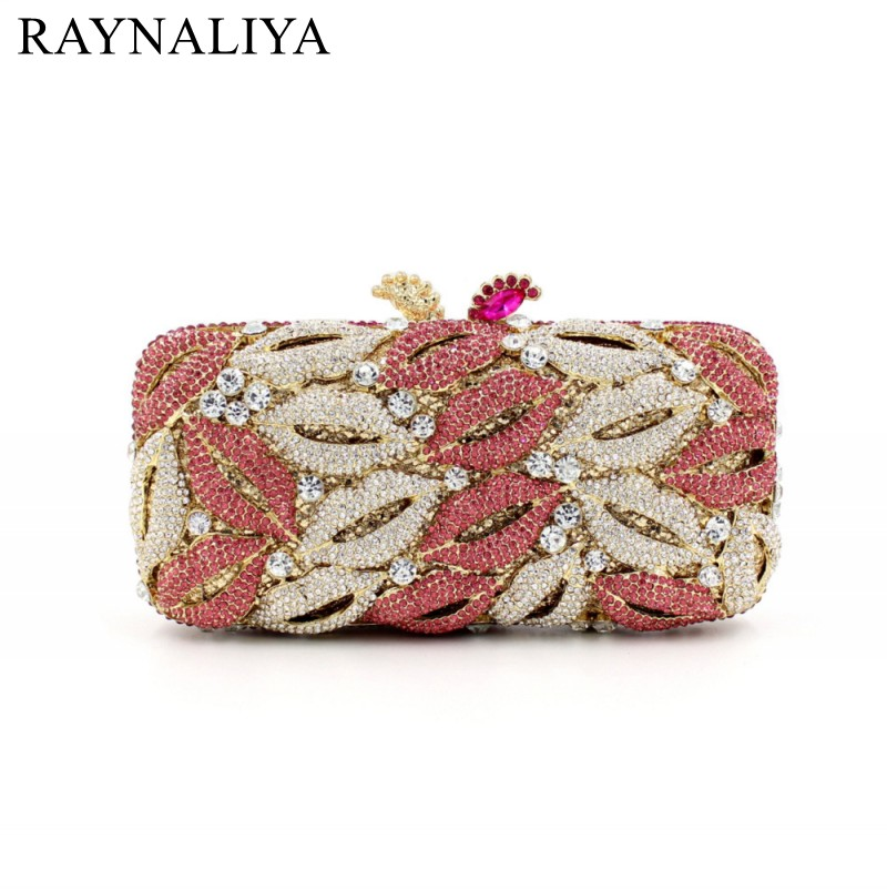 Fashion Women Evening Crystal Bags Lady Floral Day Casual Clutches Handbag Wedding Synthetic Leather Purse SMYZH-F0138 two side diamond crystal evening bags fashion clutch handbag hot styling day clutches lady wedding woman bag new smyzh f0279