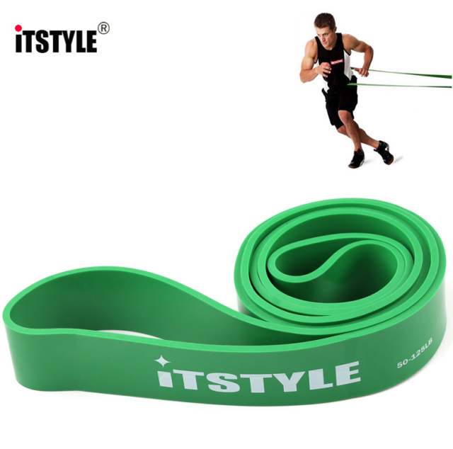 41″ Resistance Bands Natural Latex Expander Power CrossFit 208CM Yoga Rubber Loop Band