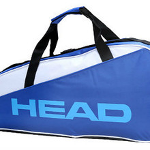 Hot Head Tennis Badminton Racket Bag Multifuntional Backpack For 3Pcs Racquets