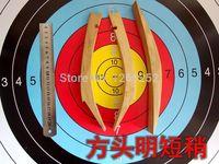 Chiński tradycyjny łuk, bow making trochę połączenie z dynastii Ming krótki łuk z odrobiną włókna szklanego bow making