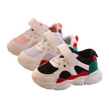 davidyue tennis infantil kids shoes children sport girls boys sneakers casual toddler air mesh sneakers Children Sports Shoes