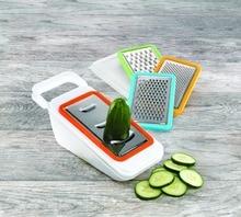Gemüseschneider & Reibe Küche hand Mandolinenschneider Set-Perfekt für Schneiden und Würfeln