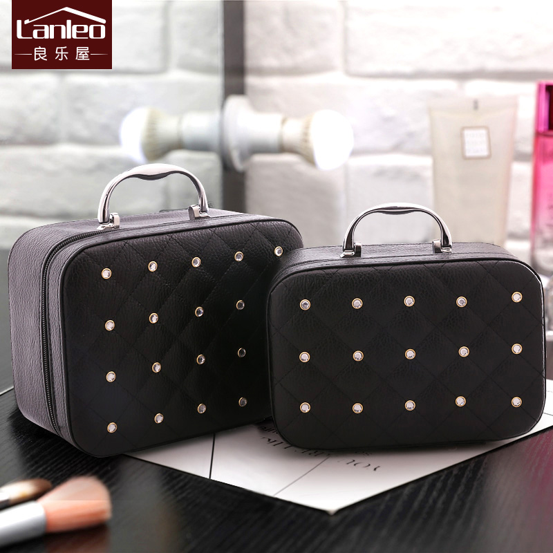 Portable Simple Storage Box Large Capacity Multi-function Suitcase Fashion Travel Cosmetic Case Waterproof Lovely top quality suitcase travel transport safety storage case bag for dji spark accessories pgytech portable explosion proof box