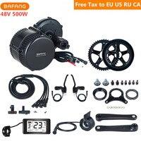 Bafang 8Fun 48V 500W BBS02B Mid Drive Motor Conversion Kits For Electric Bike Brake Crank Speed Sensor C961 C965 Display Parts