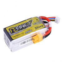 Tattu R Line 14.8V 1300mAh 95C 4S Lipo Battery with XT60 Plug For DIY FPV RC Racing Camera Drone Helicopter Spare Parts Accs