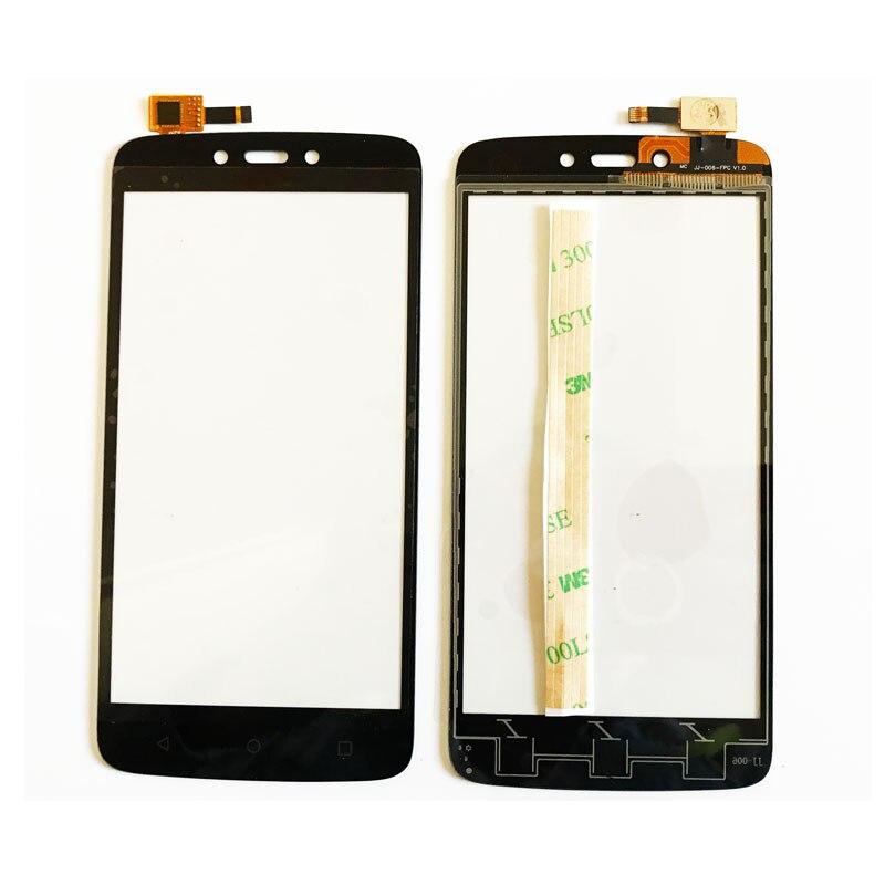 Moblie teléfono Sensor de pantalla táctil para Motorola Moto C Plus pantalla táctil panel táctil de cristal 5.0 pulgadas reemplazo de piezas de repuesto
