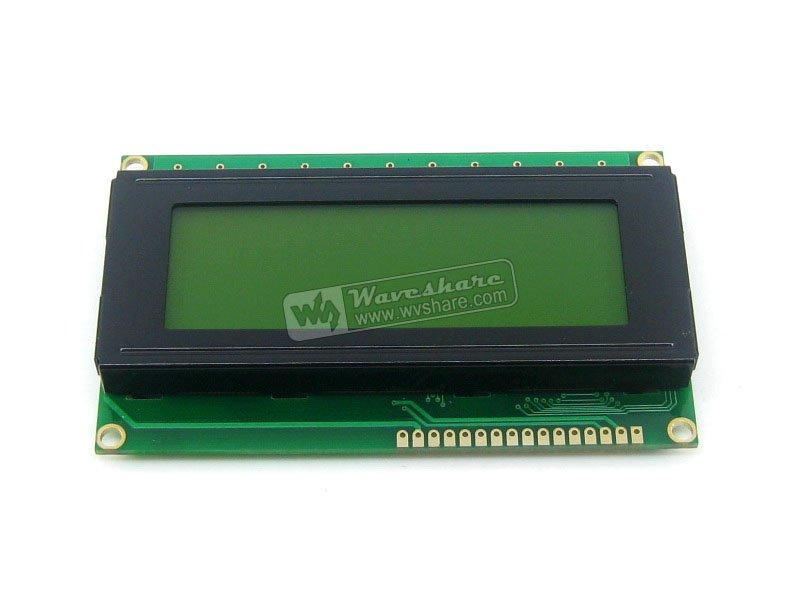 Modules 204 20X4 20*4 2004 Character LCD Module LCM Display TN/STN Yellow Backlight Black Character 5V Logic Circuit HD44780 Com