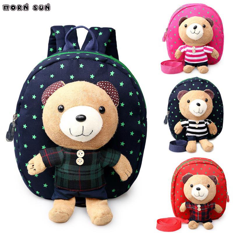 Cute Toddler Backpack Anti-lost Kids Baby Bag Animal Prints Children Backpacks Kindergarten School Bag Mochila Escolar Aged 1-3