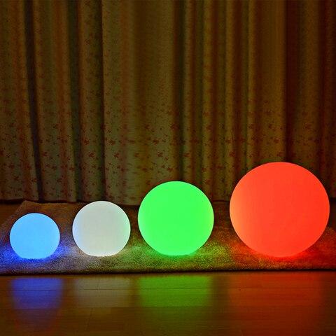 bola pvc luzes de assoalho quarto cabeceira