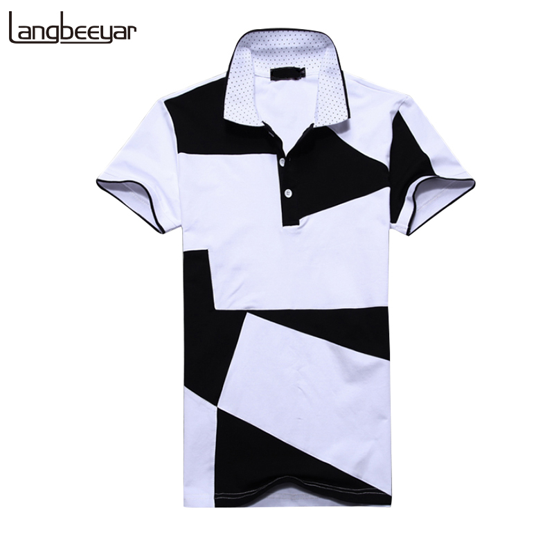Mens   T     Shirts   Fashion 2019 Summer Turn-down Collor Slim Fit Short Sleeve   T     Shirt   Men Cotton Brand-Clothing Casual Men   T  -  Shirt