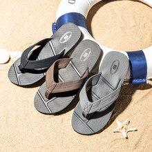 NIDENGBAO الوجه يتخبط الرجال الصيف صنادل شاطئ حجم كبير 40 48 أحذية رجالي أسود عدم الانزلاق النعال zapatos دي hombre chaussure