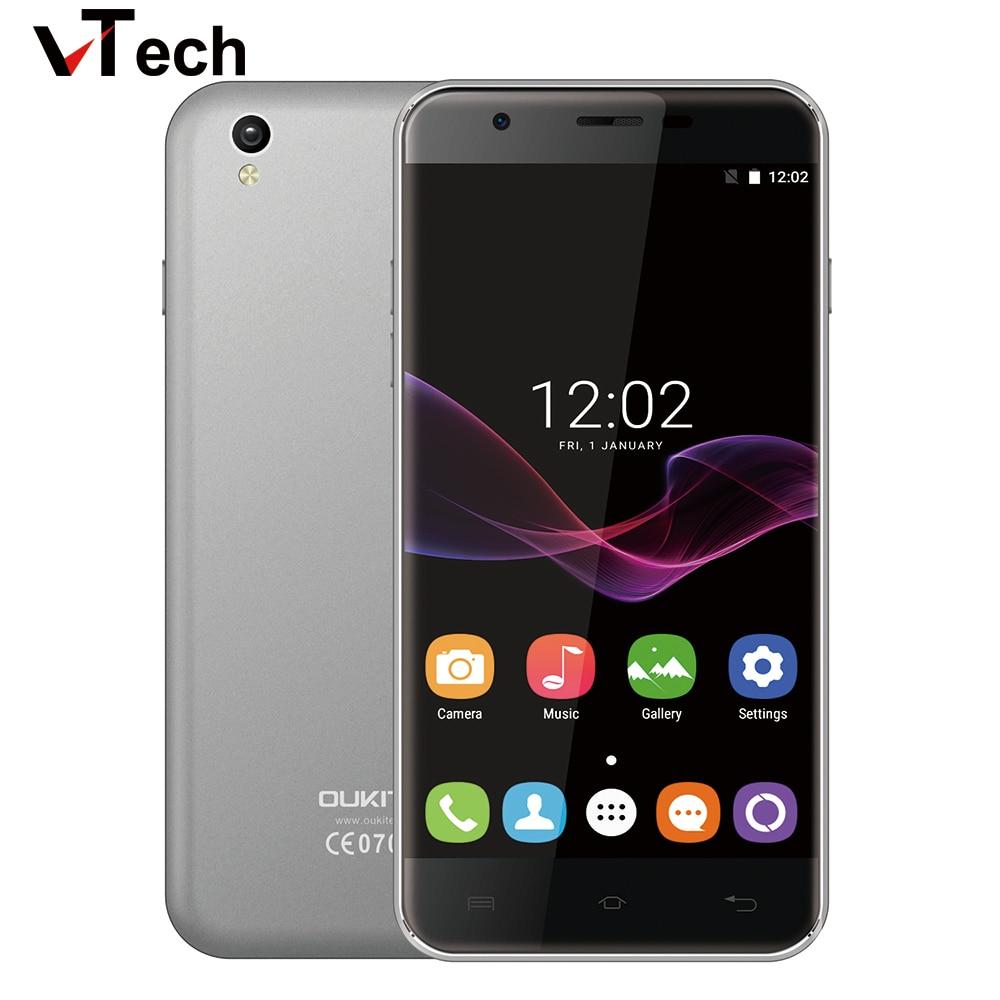 Original Oukitel U7 Max Mobile Phone Android 6 0 1280x720 IPS MTK6580 Quad Core 1GB RAM