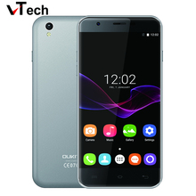 Оригинал Oukitel U7 Макс Мобильного Телефона Android 6.0 1280×720 IPS MTK6580 Quad Core 1 ГБ RAM 8 ГБ ROM 8.0MP 3 Г WCDMA 5.5 «смартфон