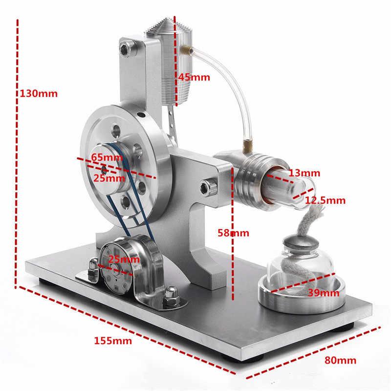 Hot Air Stirling Modelo Educacional do Motor Gerador De Energia A Vapor Brinquedo Experimento Científico Para A Aprendizagem Das Crianças Kits de Ciência Física
