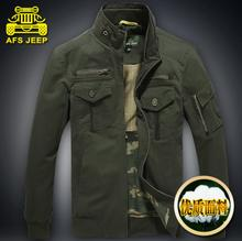 Warm Winter Origianl Brand AFS JEEP Men Jackets High quality cotton 100 casual coat casaco M