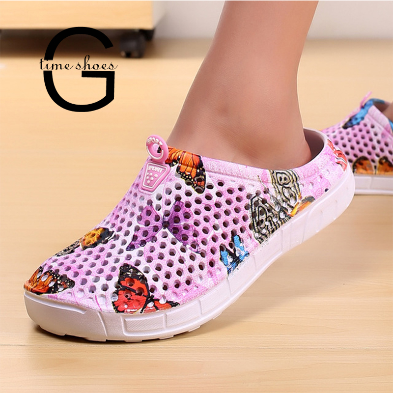 Dropshipping GTIME 2019 Womens Casual Clogs Breathable Beach Sandals Valentine Slippers Summer Slip On Women Flip Fops GXJJ007Dropshipping GTIME 2019 Womens Casual Clogs Breathable Beach Sandals Valentine Slippers Summer Slip On Women Flip Fops GXJJ007