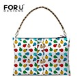 Famous Brand Women Top-handbag Bags Designer Ladybug Print Casual Tote Lady Chain Shoulder Bags Large Tote High Quality