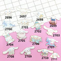 Offbeat Design Jewelry Acrylic HARAJUKU Funny cute rabbit unicorn Badge cartoon brooch Collar Tips ab302