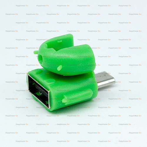 micro usb to usb otg adapter for smartphone tablet