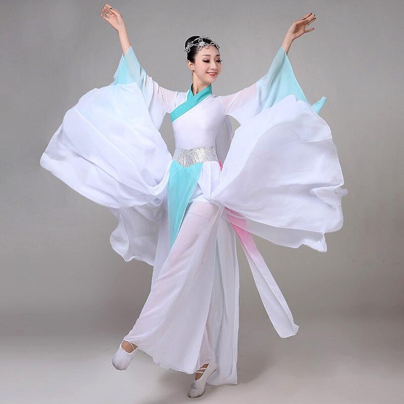 Chinese Hanfu classical dance costume female elegant wind gauze traditional chinese