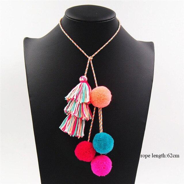 Czeski moda kolorowe Pompon Tassel wisiorek breloczki dla kobiety dziewczyny torby Pom Pom Tassel breloki akcesoria biżuteria