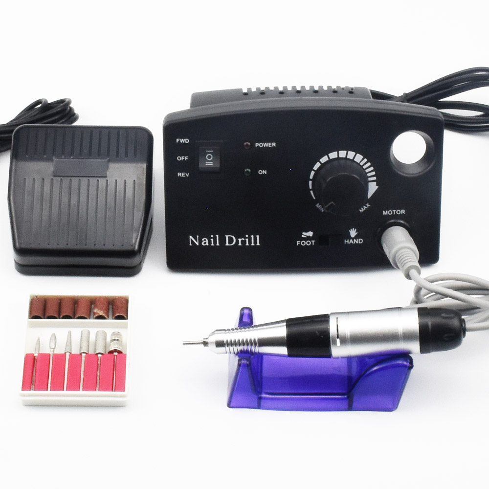 35000RPM Electric Nail Drill Machine Pro Nail Cutter Nail