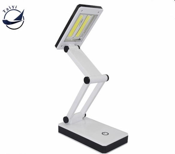[TAIYI]Hot Sale Brightness Cheap Foldable COB LED Desk Lamp