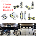 13pcs LED Canbus Interior Lights Kit Package For BMW X Series X3 E83 (2004-2010)