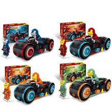 Super Heroes Thanos Ultimate Battle Avengers Infinity War Building Block Bricks Set Movie Classic Toys Marvel Sermoido