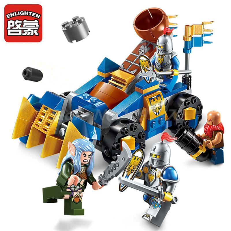 ENLIGHTEN 152Pcs The War Of Glory Series Throw Stone Car Team Model Building Blocks Educational Kids Toys For Boy Toy Gifts уэллс г война миров the war of the worlds