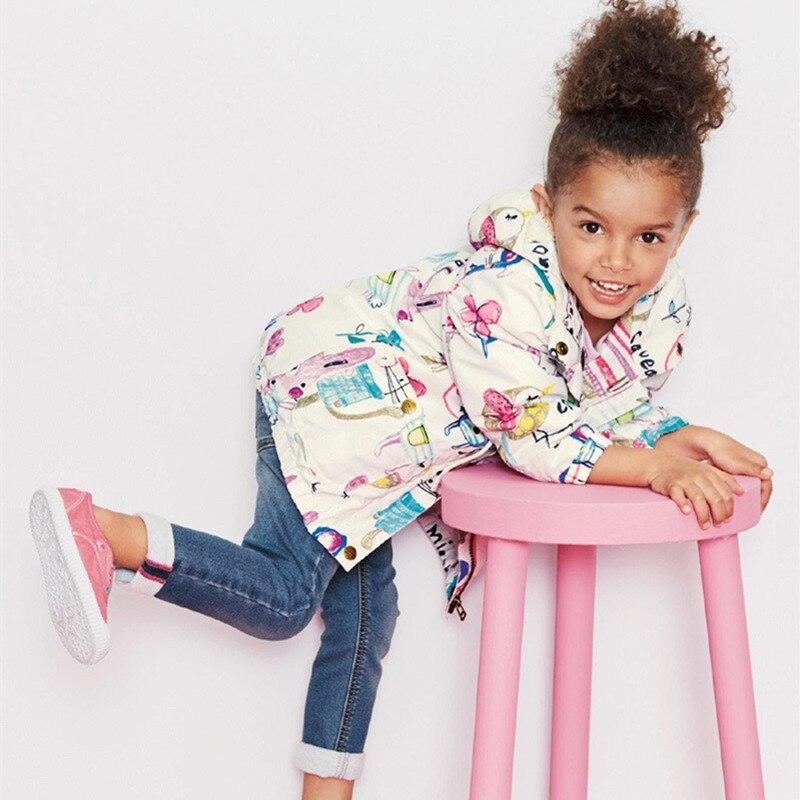 Spring 2018 New Cotton Baby Girls Coat Spend Three Flowers Lollipops Dot Jacket Cardigan Kids Children Clothing Autumn 3