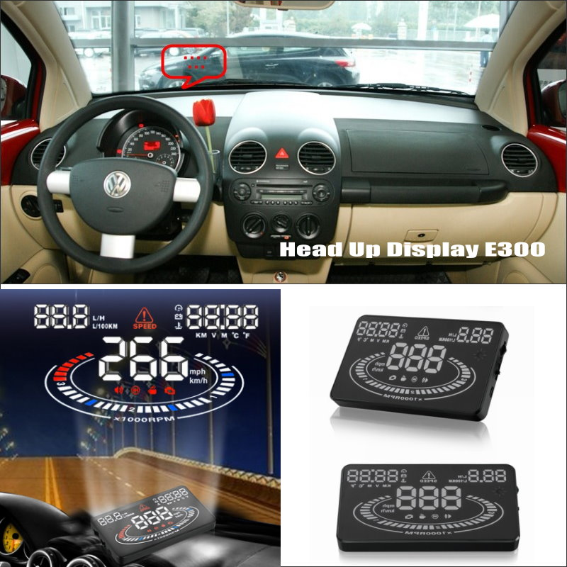 Car HUD Head Up Display For VW Beetle 2003~2010 - show your car information onto windscreen to avoid speeding infringements car hud head up display for vw beetle 2003 2010 show your car information onto windscreen to avoid speeding infringements