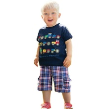 Baby Boy Tops Children T shirts 2019 Brand Kids Summer T-shirt for Boys Clothes car design Cotton Clothing Boys Tee Shirt