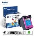 Сменный цветной картридж befon для HP 300 HP300 Deskjet D1660 D2560 D2660 D5560 F2420 F2480 F2492 F4210