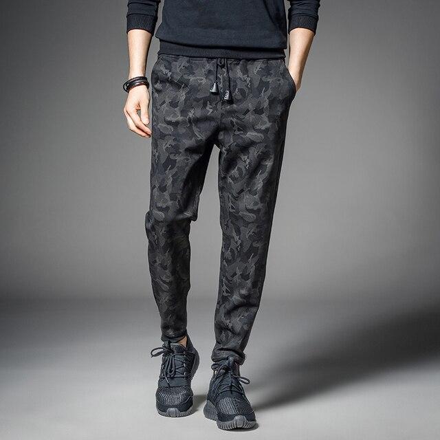 Camouflage Casual Pants Men Army Hip Hop Drawstring Fit Sweatpants tactical Pants Plus Size Outwear Trousers Male