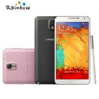 Original unlocked samsung Galaxy Note 3 N9005 4G LTE 3GB RAM 32GB+16GB ROM Android phone Free Shipping