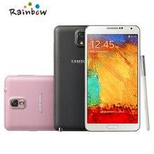 Abierto Original samsung Galaxy Note 3 N9005 N9000 teléfono Inteligente 4G LTE 3 GB RAM 16 GB ROM Android Envío Libre del teléfono
