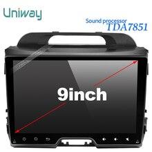 Uniway android 6.0 dvd del coche para kia sportage 2014 2011 2009 2010 2013 2015 car stereo radio reproductor multimedia navegador
