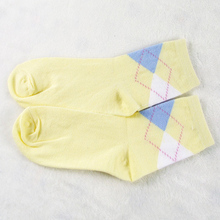 Solid Color Short Socks